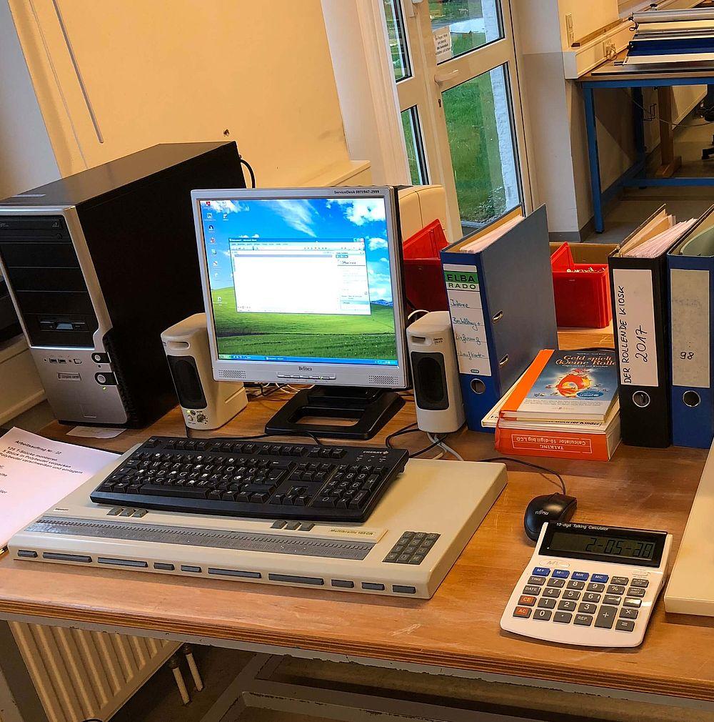 Berufsbildungsbereich PC